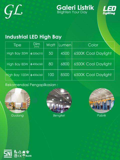 GL LED Industrial LED High Bay