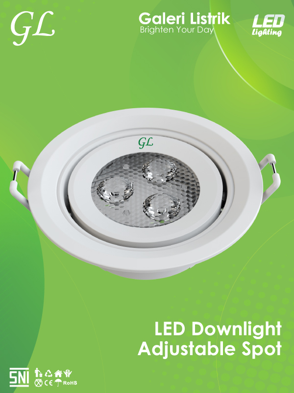 LED-Downlight Adjustable Spot
