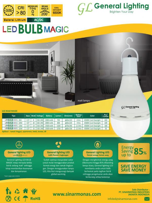 GLLED bulb magic