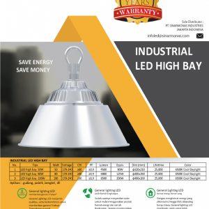 brosur industrial led highbay