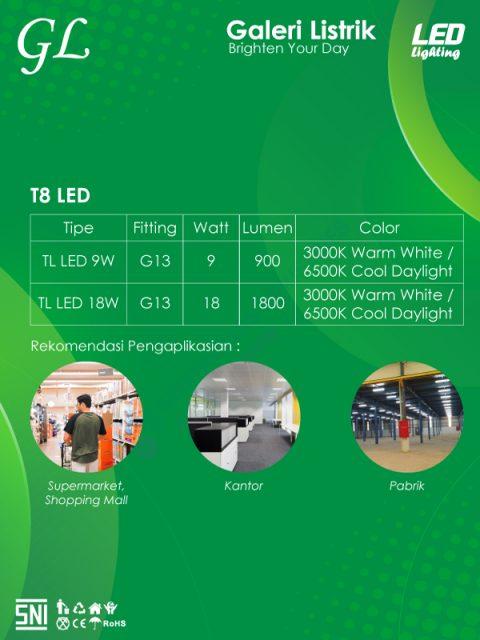 GL LED T8 Tube LED