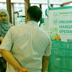 Lampu GL LED Ikuti Pameran Elektronik Terbesar di Indonesia