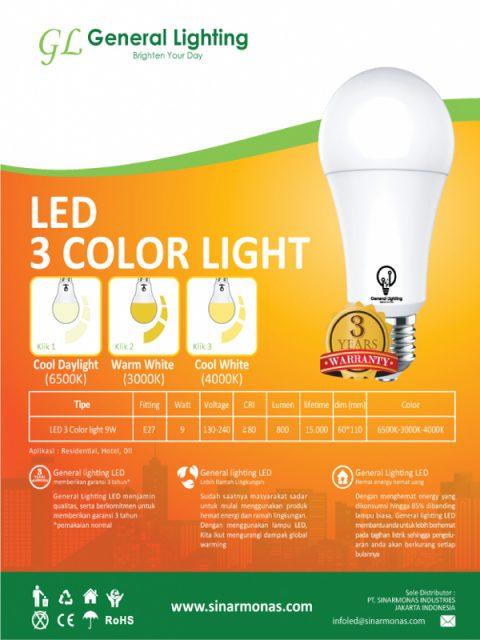 GL LED 3 Color